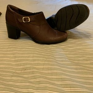 Clark's Low Ankle leather Shoes